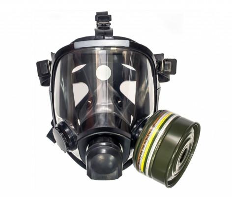 Противогаз фильтрующий гражданский МЗС ВК ЭКРАН с ВК  450 с панорамной маской МАГ-ЗЛ