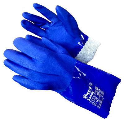 Химически перчатки Gward Sandy стойкие  с песочным покрытием