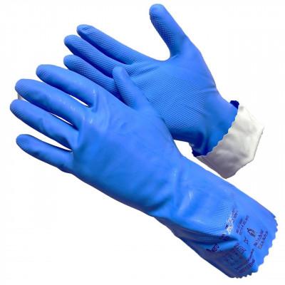 Перчатки Gward Silver 1 усиленные латексные